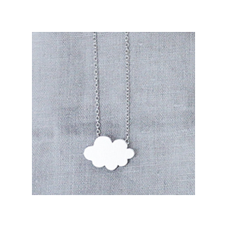 Cloudy necklace
