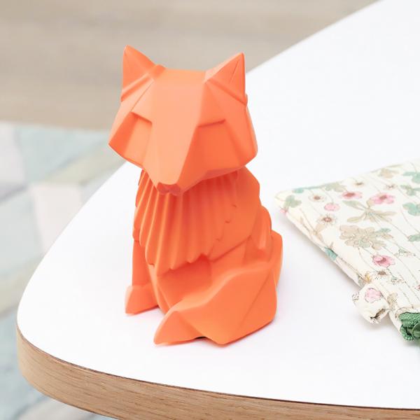 Origami fox night