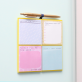 Magnetic list pads