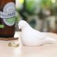Dove bottle opener