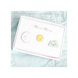 Enamel pins - happy sky