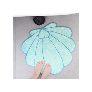 Tapis Mermaid shell