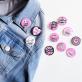 Feminist button