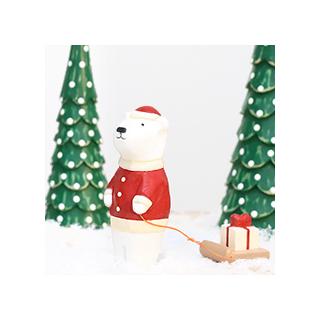 Pole pole de Noël - ours
