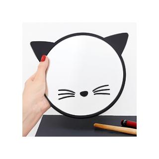 Black cat mirror