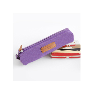 A low hill pencil case - violet