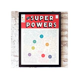 The illustrious omnibus of super powers