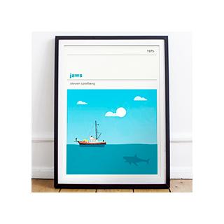 Affiche cinéma - Les dents de la mer