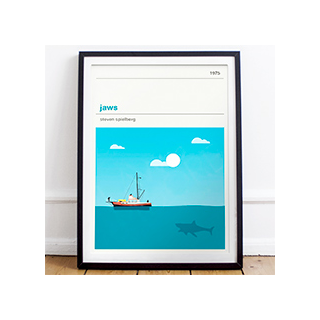 Movie print - Jaws