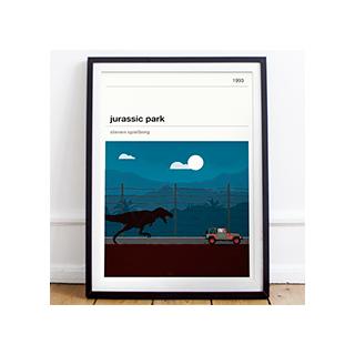 Affiche cinéma - Jurassic Park