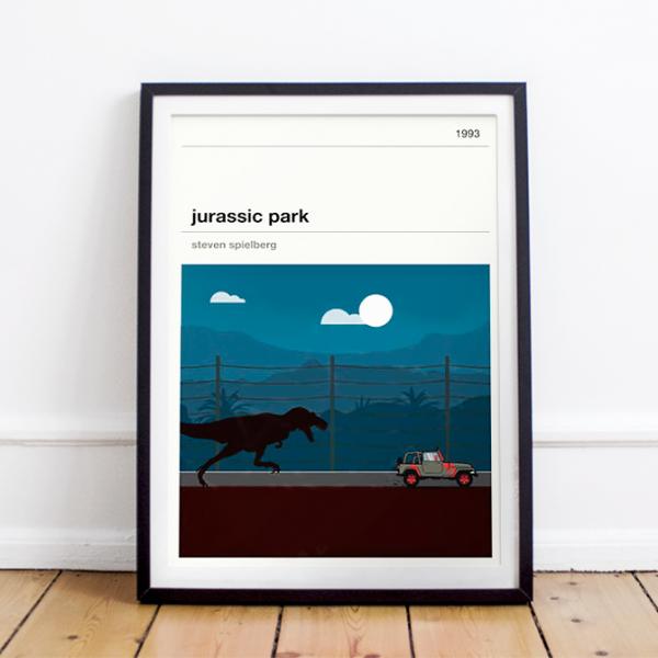 Movie print - Jurassic Park