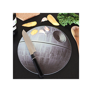 Death star cutting board