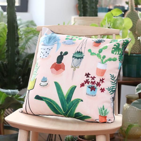 Urban jungle - cushion