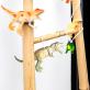 Guirlande dinosaures - natural