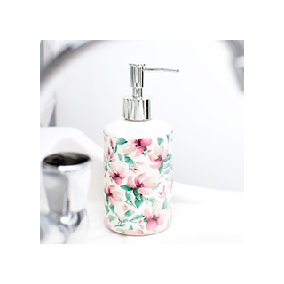 Vintage petalia soap dispenser