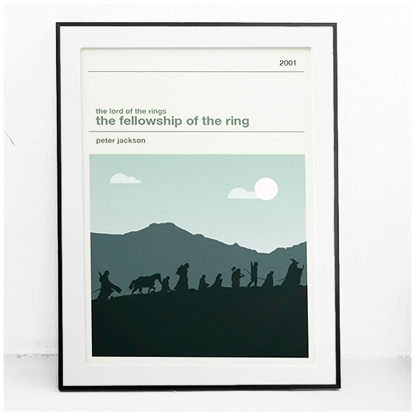 Movie print - The lord of the rings