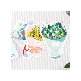 Cartes bouquets de fleurs
