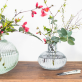 Vase en verre - gris/bleu